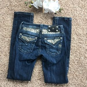 Miss me skinny jeans with sequins 12